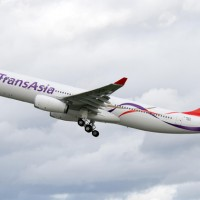 TransAsia Airways Airbus A330-300 (B-22101). (Photo by P. Pigeyre/Airbus)