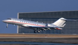 VistaJet Bombardier Global 6000 (9H-VJA). (Photo by Bombardier)