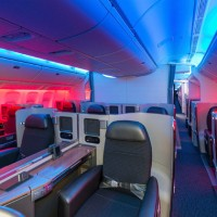No more computer renderings: This is a real photo inside a real American Airlines Boeing 777-300ER. (Photo by PRNewsFoto/American Airlines)