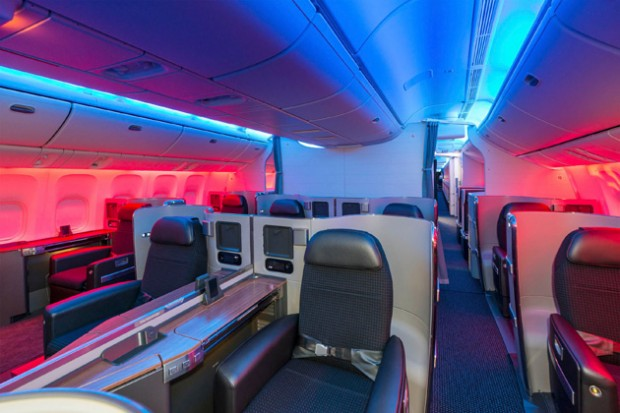 The gallery for american airlines boeing 777 interior for Interieur 777
