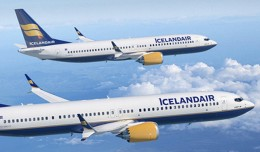 Icelandair Boeing 737 MAX 8 and 737 MAX 9. (Rendering by Boeing)