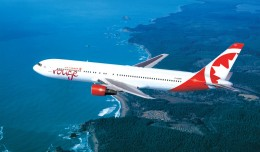 Air Canada Rouge Boeing 767-300ER. (Rendering by Air Canada rouge)