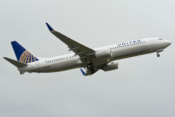 The 377th Boeing 737 delivered this year: United Airlines 737-900ER (N39463). (Photo by Boeing)