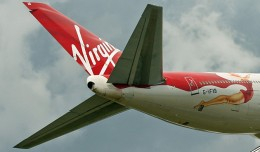 Lady Penelope rides the back of a Virgin Atlantic 747-400 (G-VFAB). (Photo by Ronnie McDonald via Flickr, CC-BY)