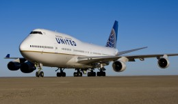 United Airlines Boeing 747-400. (Photo by United)