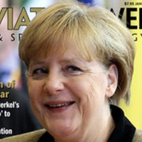 German Chancellor Angela Merkel named Aviation Week Person of the Year 2012.