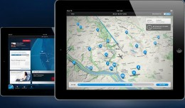 Delta&#039;s new iPad-specific app. (Photo by Delta)