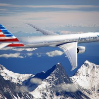 Rendering of the new American Airlines livery on a Boeing 777-300ER. (Image by American Airlines)