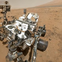 NASA&#039;s Curiosity rover used the Mars Hand Lens Imager (MAHLI) to capture this set of 55 high-resolution images, which were stitched together to create this full-color self-portrait. (Photo by NASA/JPL-Caltech/Malin Space Science Systems)