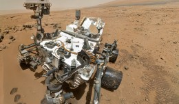 NASA's Curiosity rover used the Mars Hand Lens Imager (MAHLI) to capture this set of 55 high-resolution images, which were stitched together to create this full-color self-portrait. (Photo by NASA/JPL-Caltech/Malin Space Science Systems)