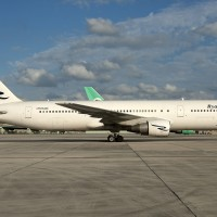 A Ryan International Airlines Boeing 767-300ER (N764RD) spotted in Miami. (Photo by Mark Lawrence)