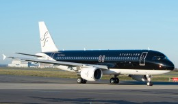 StarFlyer's first directly purchased Airbus A320 (JA08MC). (Photo by Airbus)