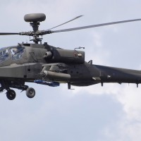 A UK Army Air Corps Westland Apache WAH-64D Longbow (ZJ206).