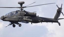 A UK Army Air Corps Westland Apache WAH-64D Longbow (ZJ206).