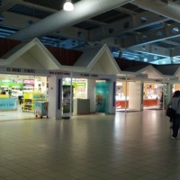 Post-security shops at St. Maarten (SXM)