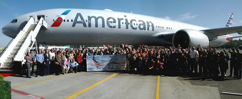 American Airlines Celebrates Delivery Of New Boeing 777 ...