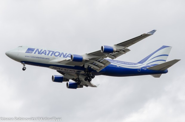 National Air Cargo 747 N952CA, sister aircraft of the crash N949CA