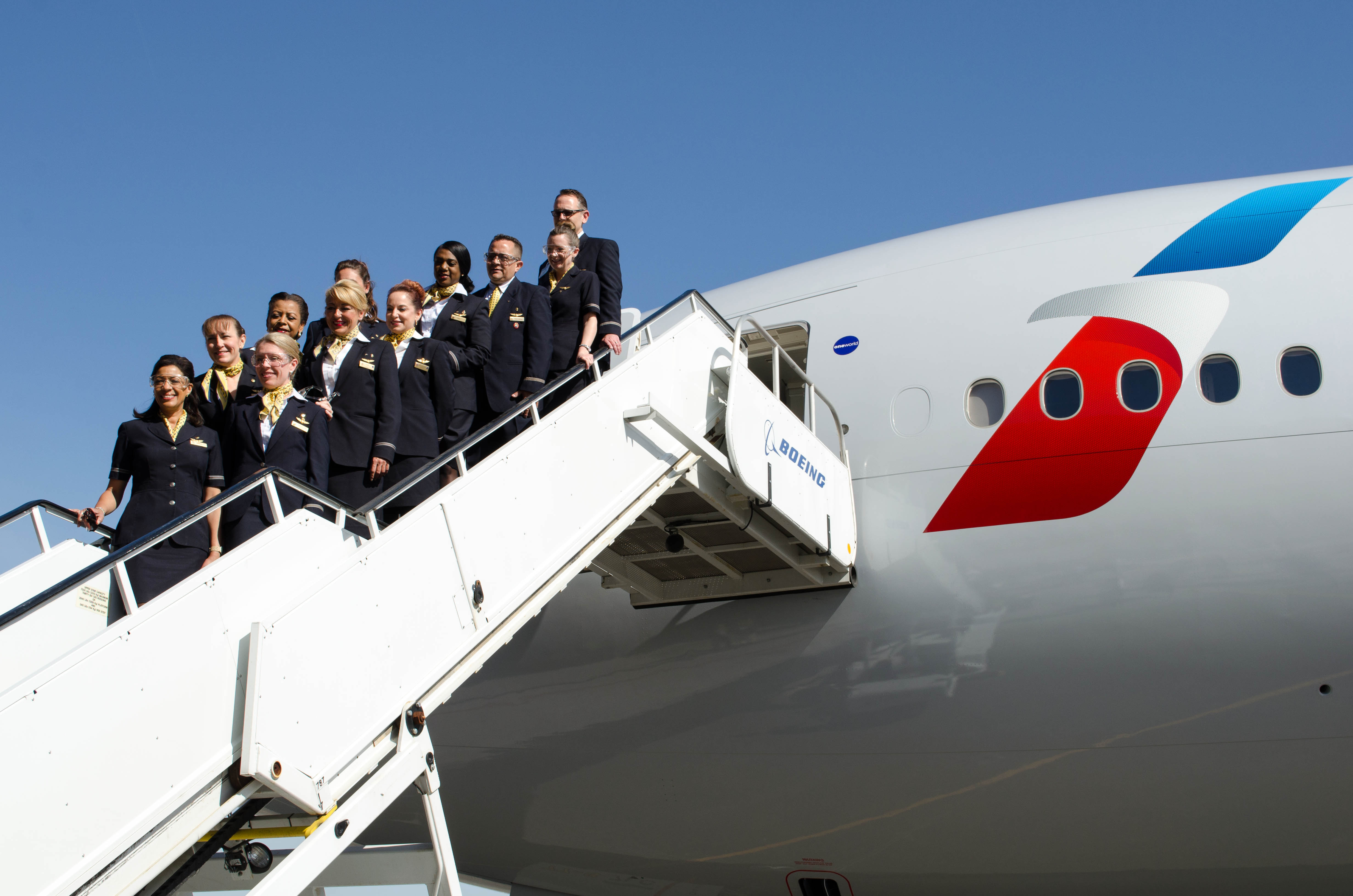 American Airlines Celebrates Delivery Of New Boeing 777