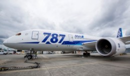 787 Line Number 83 for ANA being prepped for delivery earlier this week. Photo by Patrick Rodwell.