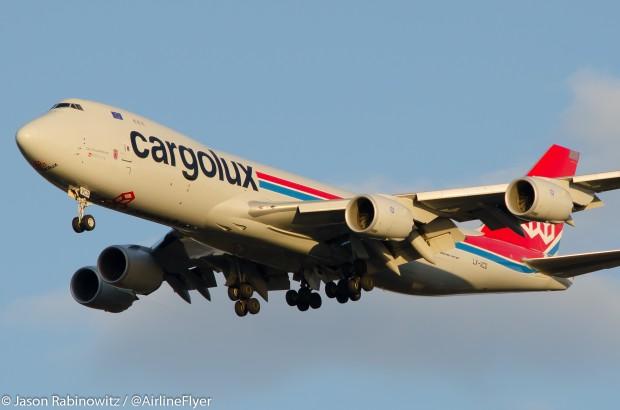 Cargolux 747-8F. Credit: Jason Rabinowitz