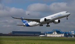 A350 First Flight Takeoff