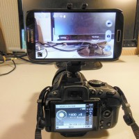 Simple,  cheap solution to mount your phone on your DSLR