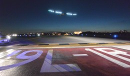 Solar Impulse Departing IAD- Photo Credit: Metropolitan Washington Airports Authority