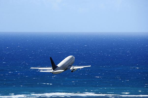Image result for plane over atlantic ocean