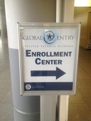 Global Entry Enrollment Office at JFK. Credit: Yelp