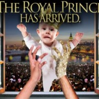 In the latest Spirit Airlines ad, the royal baby is dropped from a window