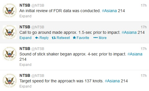 The NTSB live-tweets their press conference