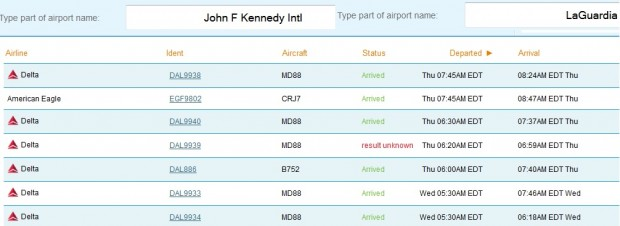 Repositioning flights from JFK to LGA are short, but still not nearly the shortest commercial flight in the world