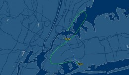 Flying from JFK to LGA is still faster than driving on the Van Wyck
