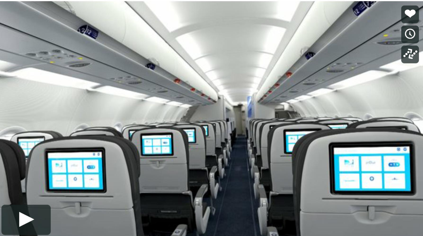 Analyzing The New Jetblue Airbus A321 Videonycaviation
