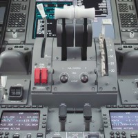 787 Throttle Control and Fire Levers