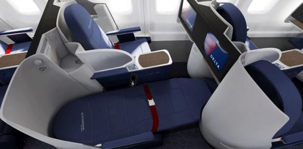 New Delta 757-200 BusinessElite