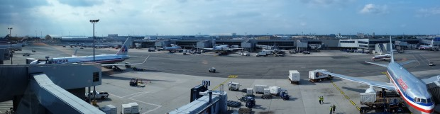 Admirals Club JFK View