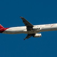 A TACA A321 climbs out of JFK.