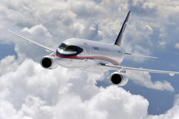 Sukhoi SSJ100 (Photo: Superjet International)
