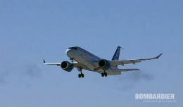 CSeries CS100 First Flight