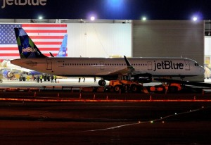 JetBlue's first Airbus A321