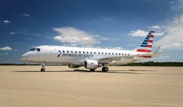 An American Eagle E175. Image courtesy American Airlines Group