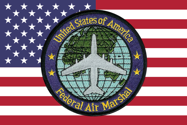 AIR MARSHAL ON FLAG