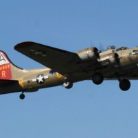 "The Collings Foundation's B-17G ""Nine O Nine"" Departing KOXC"