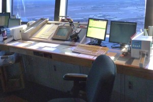 More of the Clearance Delivery console. Photo by David Abbey.