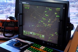 A portion of the Class Bravo console. Photo by David Abbey.
