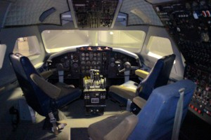 "Surely you can't be serious!? We are serious, this is the actual flight deck used in the movie ""Airplane!"""