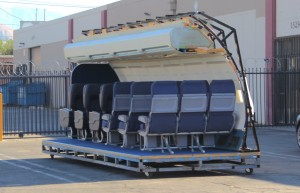 Need an airplane? Not in LA? These seating pallets can come to you!