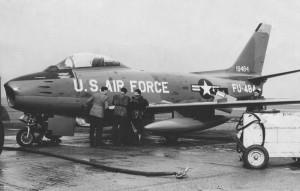 CF Sabre, seen here in 1956.