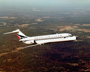 Delta was the first to fly the DC-9 in 1965. (Photo by Delta Air Lines)